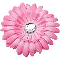 Large Capacity Outdoor Equipment Kids Daisy Flowers Headwear (Color : Rose)