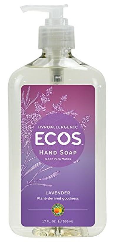 神話ショット教えEarth Friendly Products, Hand Soap, Organic Lavender, 17 fl oz (500 ml)