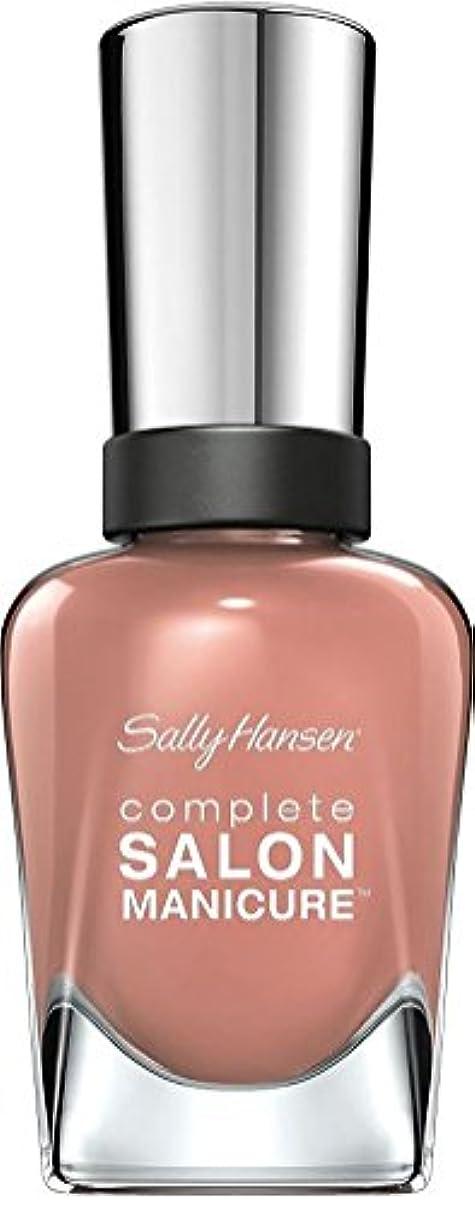 ブリーク葉を集める単独でSally Hansen Complete Salon Manicure Nail Colour Mudslide