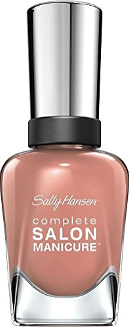 召集するナプキン不道徳Sally Hansen Complete Salon Manicure Nail Colour Mudslide