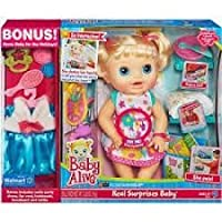 Baby Alive Real Surprises Baby Exclusive Bonus Holiday outfit-ブロンド