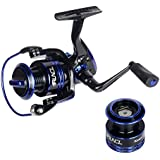 RUNCL Spinning Reel KEEN II, Fishing Reel 2000-4000 Series 6+1 Stainless Steel Sealed Ball Bearings 5.1:1/5.2:1/5.5:1 Gear Ratio Left/Right Interchangeable Handle for Freshwater Saltwater Boat Fishing