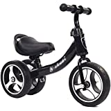 Children's Balance Bike for 1-3 Years Old, Baby Bicycle Trike No Pedal Walker with Adjustable Handle