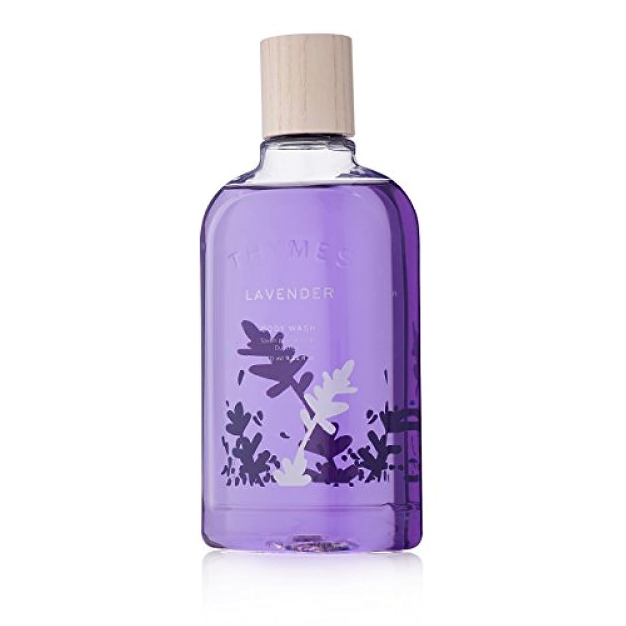 注意不公平果てしないThymes Lavender Body Wash 270ml/9.25oz