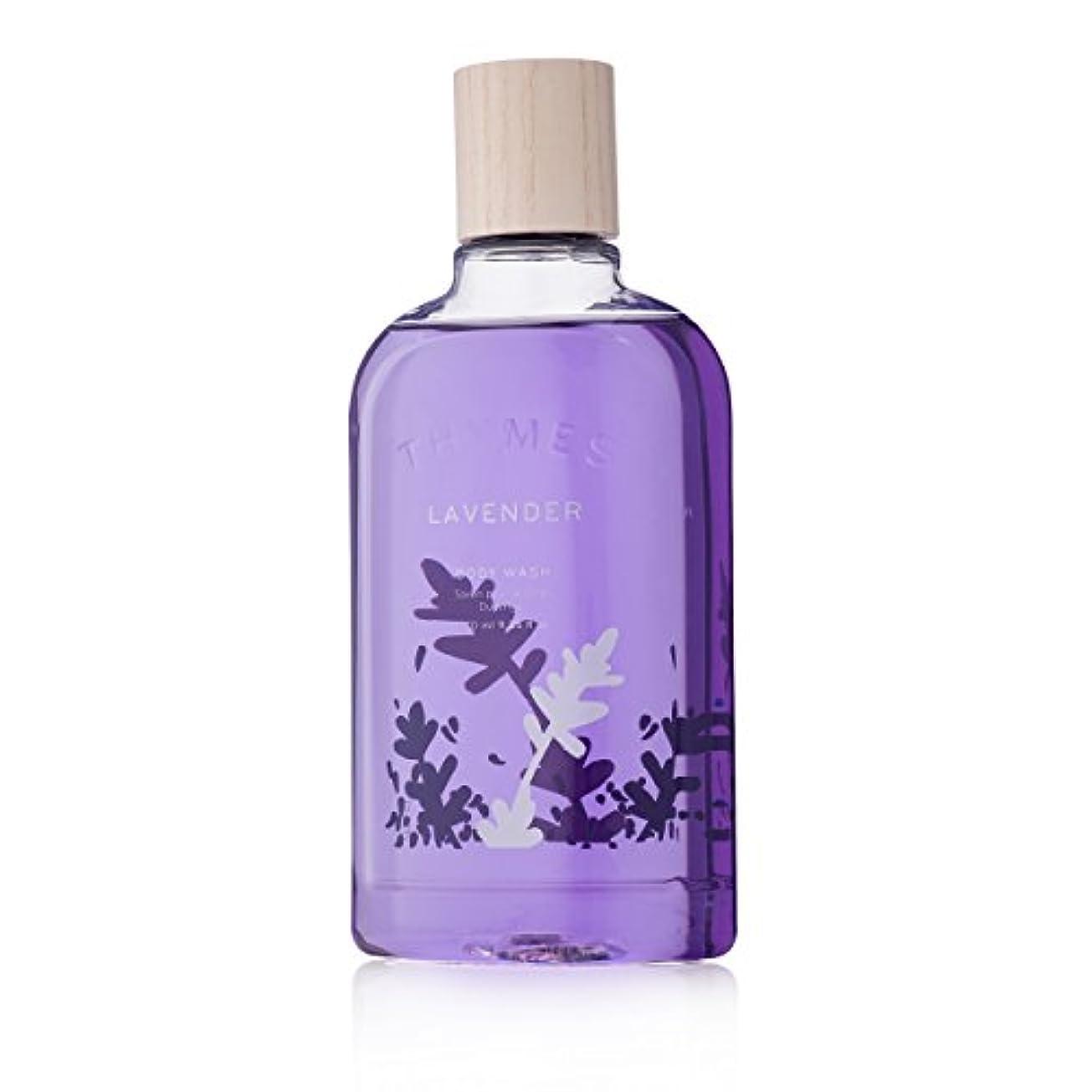 異常従事するバングThymes Lavender Body Wash 270ml/9.25oz