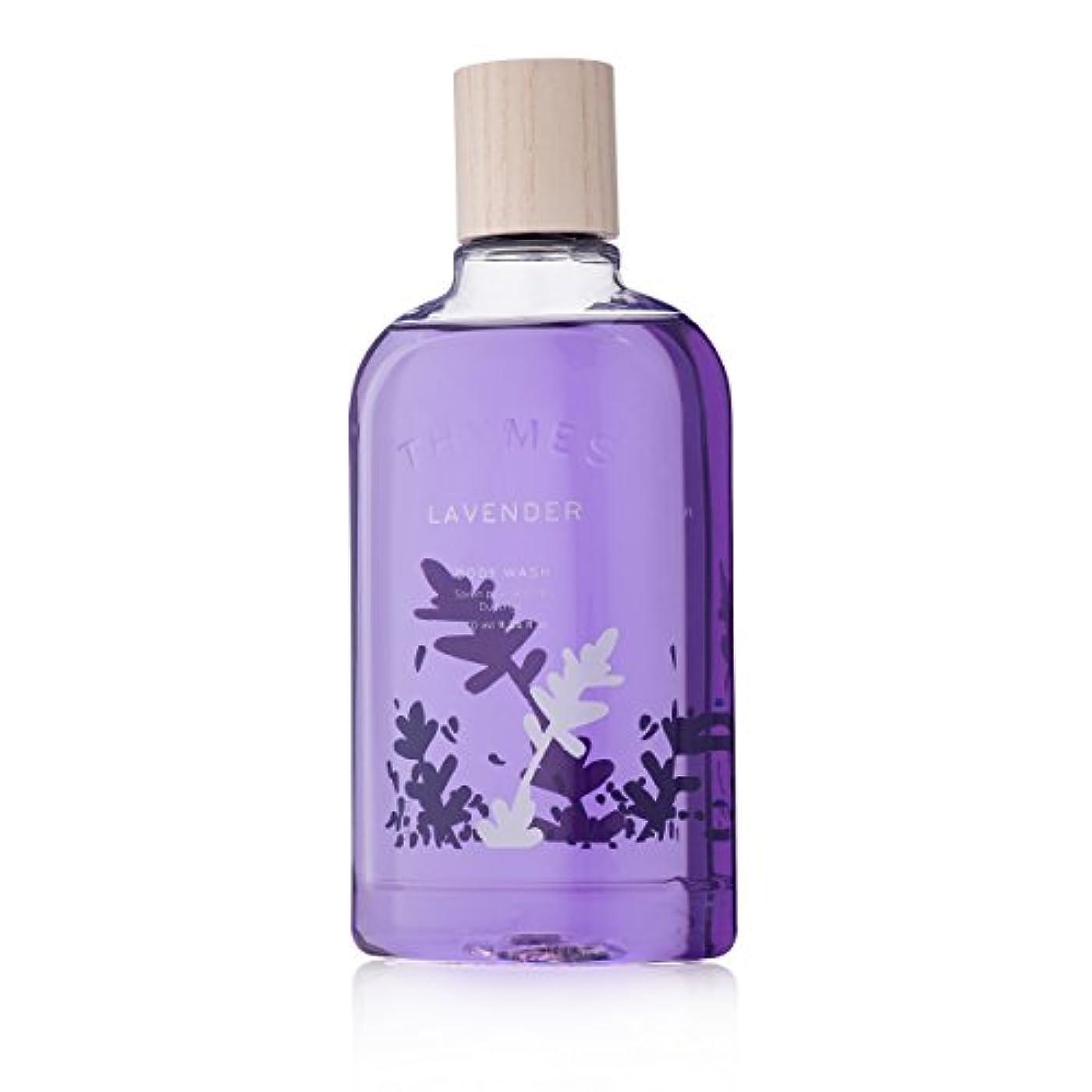 遷移オペラ法律Thymes Lavender Body Wash 270ml/9.25oz