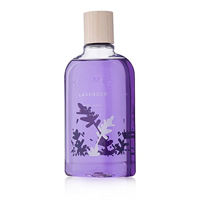 隙間ベアリングサークル孤児Thymes Lavender Body Wash 270ml/9.25oz