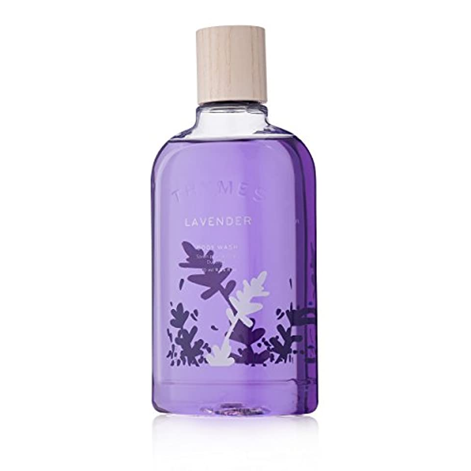 全国リンケージ四Thymes Lavender Body Wash 270ml/9.25oz