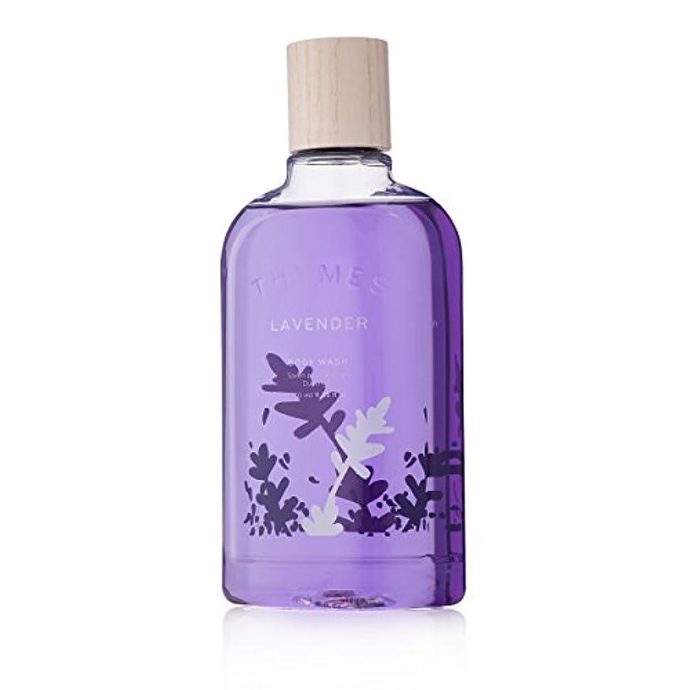 急性熟考する依存Thymes Lavender Body Wash 270ml/9.25oz