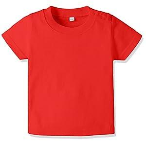 (プリントスター) Printstar 5.6oz ベビーTシャツ 00201-BST 00201 010 レッド 90cm