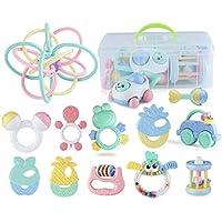 ハンドベルラトル赤ちゃん新生児臼歯 - 赤ちゃんのラトルとおもちゃのギフトセット ( Color : C )