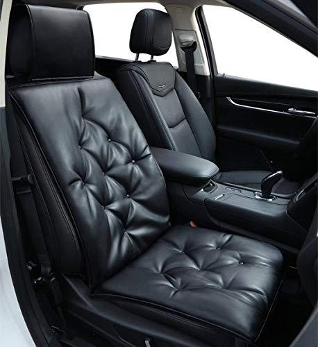 Big Ant(ビッグアント) 車用シートクッション 座布団 フリーサイズ 運転席&助手席 座席カバー ブラック 一個入り