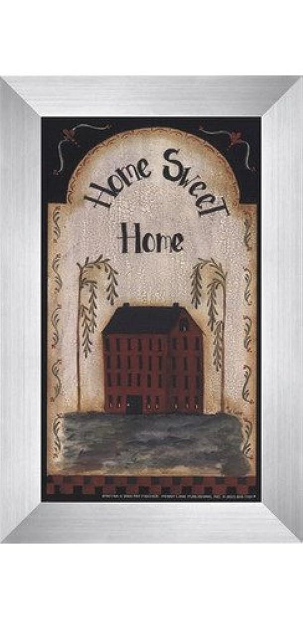 レーザコロニアル孤独なHome Sweet Home by Pat Fischer – 4 x 7インチ – アートプリントポスター LE_74268-F9935-4x7