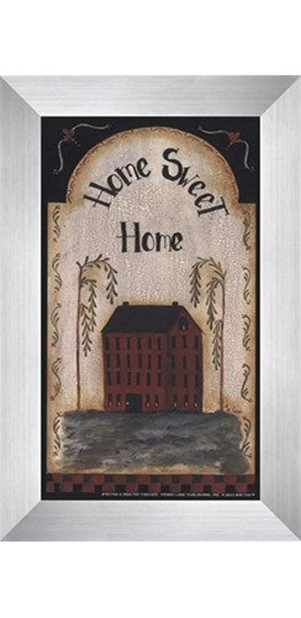 再生労苦代表するHome Sweet Home by Pat Fischer – 4 x 7インチ – アートプリントポスター LE_74268-F9935-4x7