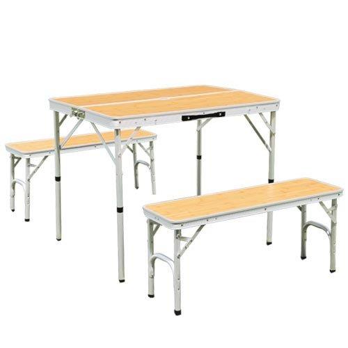 アルミ テーブル チェア セット ALPT-90 | 2WAY