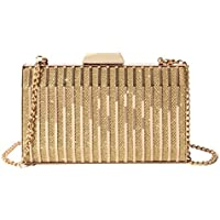 TOOGOO Iron Box Dinner Evening Dress Small Bag Day Clutch Lady Night Clutch Bag Female Party Wallet Black