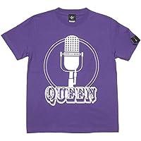 Rock Queen Tシャツ (V.パープル) sp003tee-pu -G- 半袖 ロックT ロックンロール 紫色