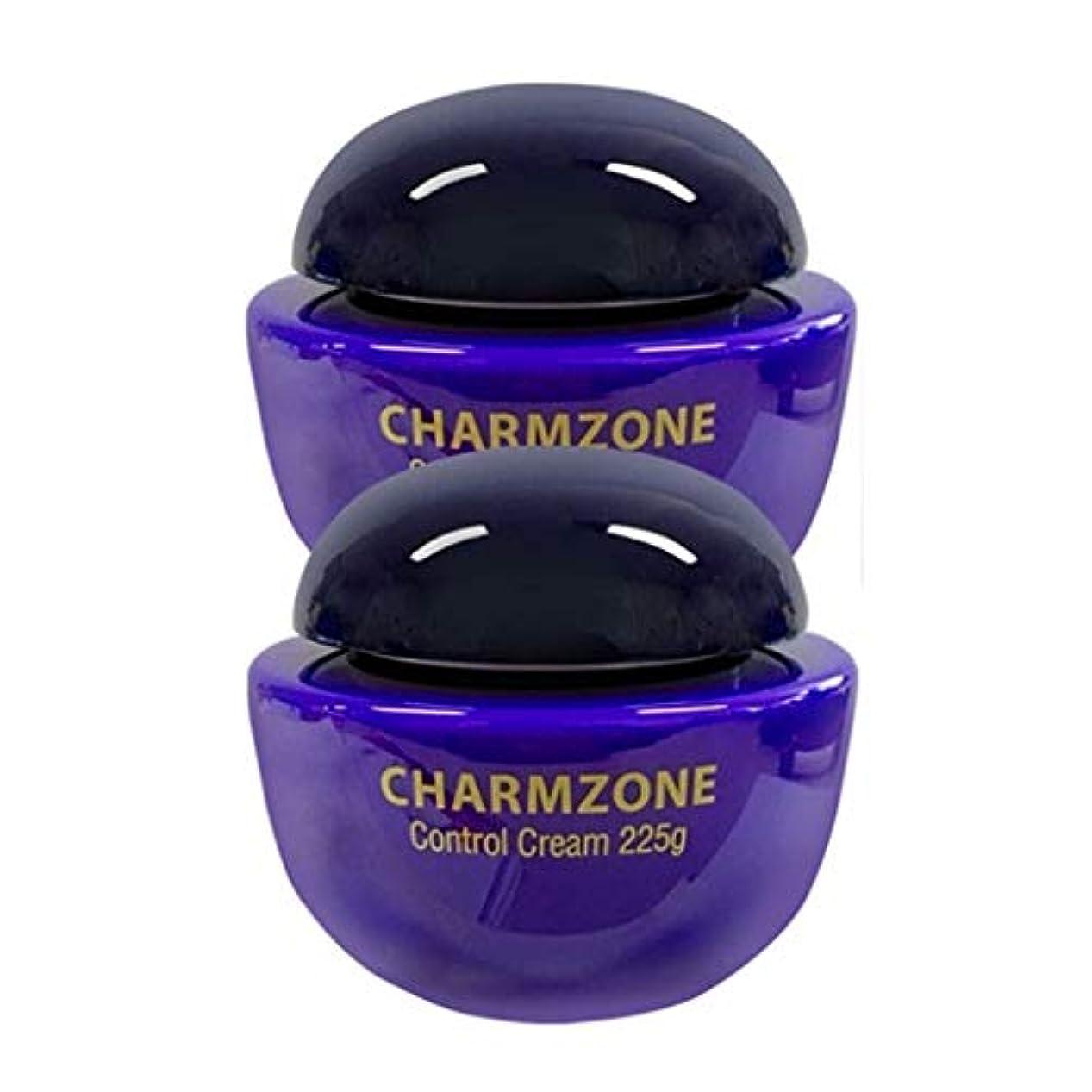 鼻虫を数える不安定なチャムジョンコントロールクリームマッサージクリーム225g x 2本セット、Charmzone Control Cream 225g x 2ea Set [並行輸入品]