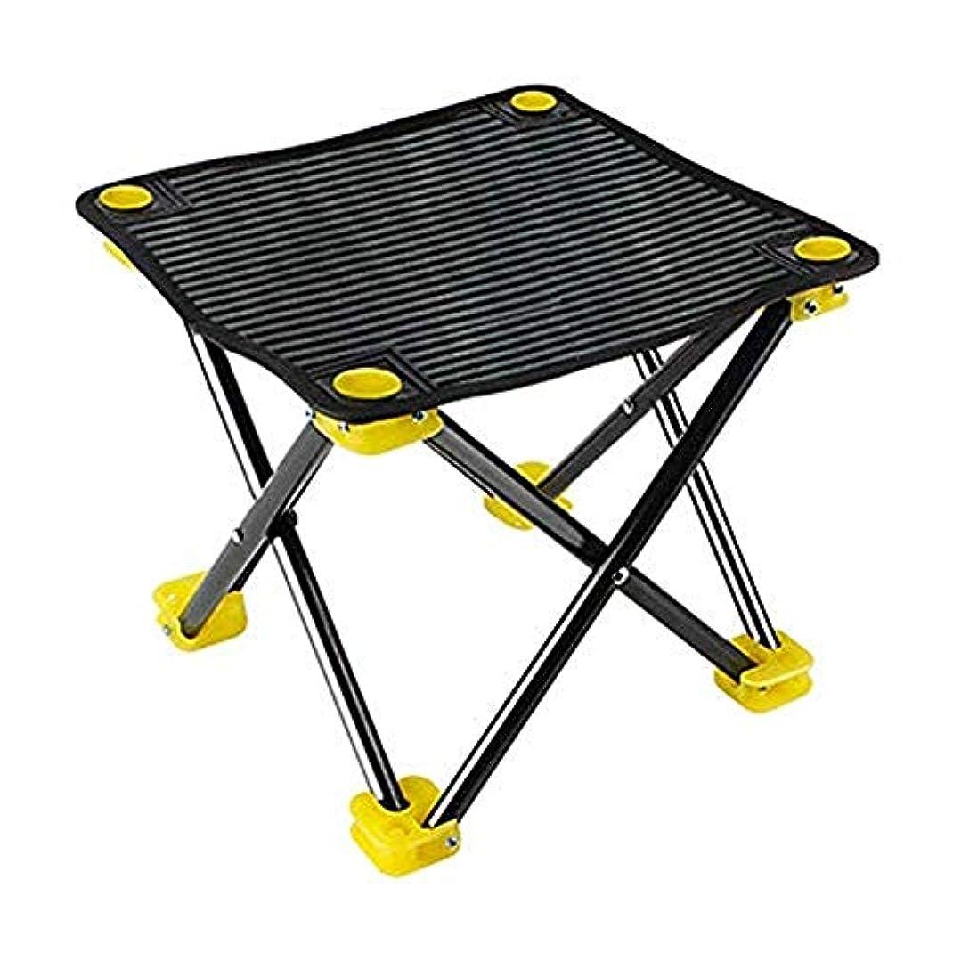 ルート機会センブランス釣り椅子新しい釣り椅子折りたたみポータブルテーブル釣り椅子ミニ釣りスツールスケッチ小さな屋外椅子 (色 : ブラック)