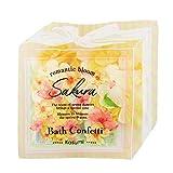 グローバル プロダクト プランニング バスコンフェッティ カスミザクラ CA(アワアワ泡風呂 バブルバス 桜の香り) 入浴剤 10g