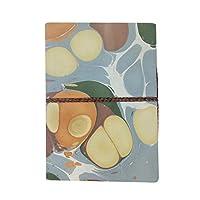 ブルー個人日記ノート現代アート大理石デザイン5×7インチ| Jtogo.jp 100%上質紙I 50枚/ 100ページ(150 gsm)エコフレンドリーギフト