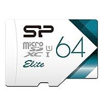 【Amazon.co.jp限定】シリコンパワー microSDXCカード 64GB class10 UHS-1対応 最大読込85MB/s アダプタ付 永久保証 SP064GBSTXBU1V20BS