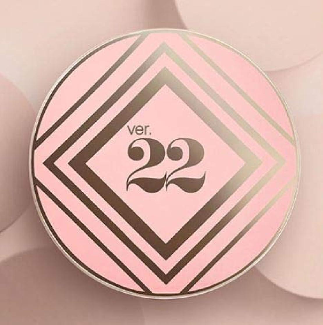 列挙する唇ブランクVer.22 Chosungah C&T VVIG Cushion 25g SPF50+/PA++++ (2号サンドベージュ) [並行輸入品]