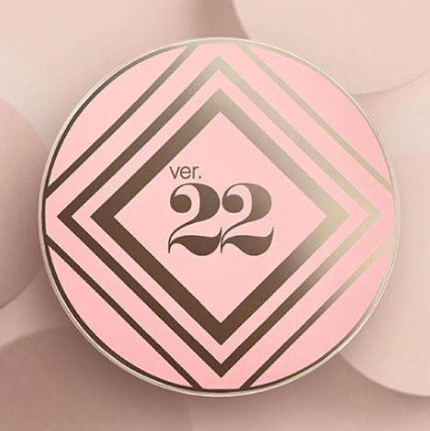 腹絶対に安全Ver.22 Chosungah C&T VVIG Cushion 25g SPF50+/PA++++ (1号ライトベージュ) [並行輸入品]