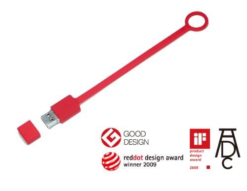 ライトニング USB メモリー GRiD TAG 4GB RED