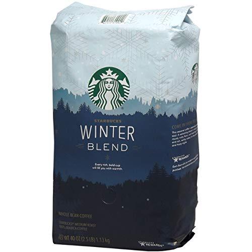 Starbucks スターバックス ウインターブレンド コーヒー豆 1130g [並行輸入品]
