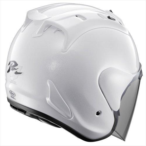 アライ(ARAI) バイクヘルメット ジェット SZ-Ram4 グラスホワイトM 57-58cm