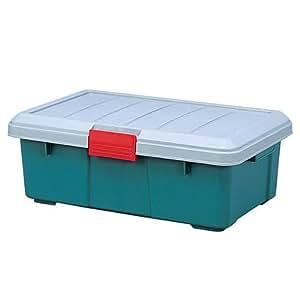 アイリスオーヤマ ボックス RVBOX 600F グレー/ダークグリーン 幅60×奥行37.2×高さ22cm