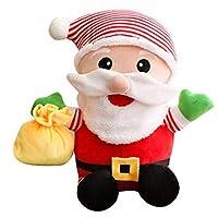 サンタクロース人形ラージクリスマスデコレーションぬいぐるみ人形 (サイズ さいず : 15cm)