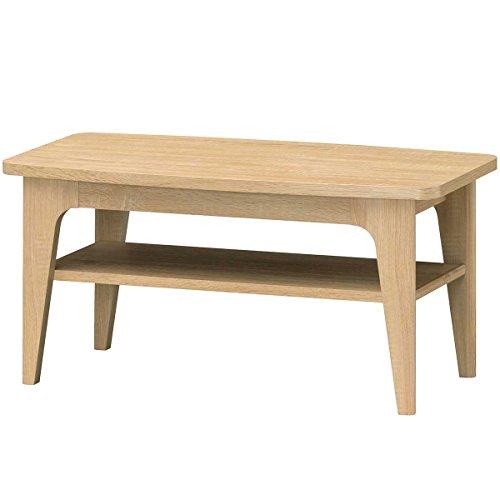 RoomClip商品情報 - 白井産業 ローテーブル 約 幅80 奥行40 高さ39 cm  センターテーブル シンプル ナチュラル (HNB-8040T(HKO) ホノボーラ)