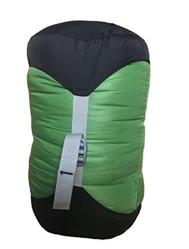 AEGISMAX コンプレッションバッグ ウルトライトコンプレッションサック 携帯スタッフサック 旅行スタッフバッグ 寝袋用圧縮バッグ6L/10L/14L/20L/30L (XL(30L))