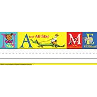 Dr Seuss Abc Tented Name Plates