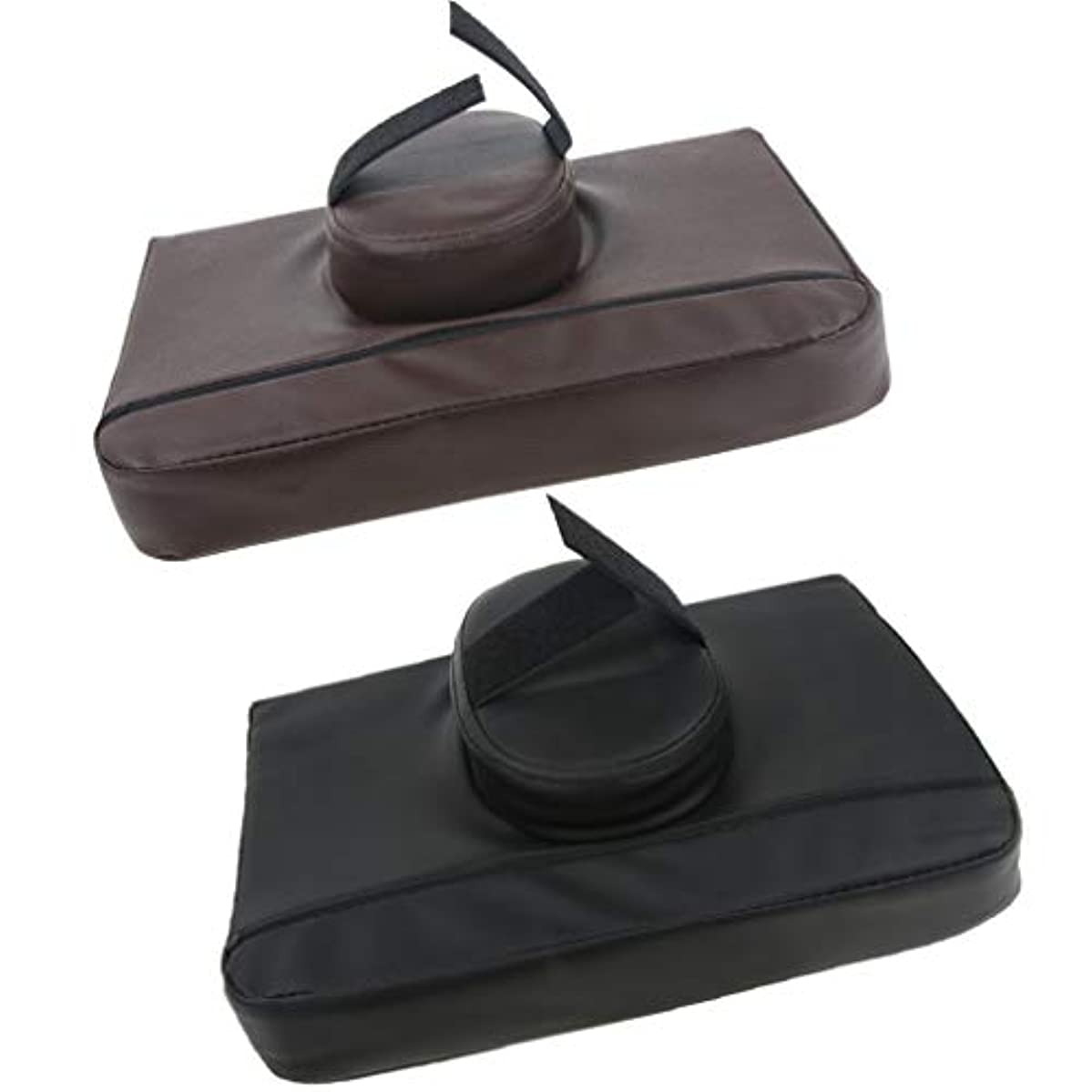 頼るスープ万一に備えてKESOTO 2個 マッサージ枕 マッサージピロー スクエア マッサージテーブル用 通気性 快適 プレゼント