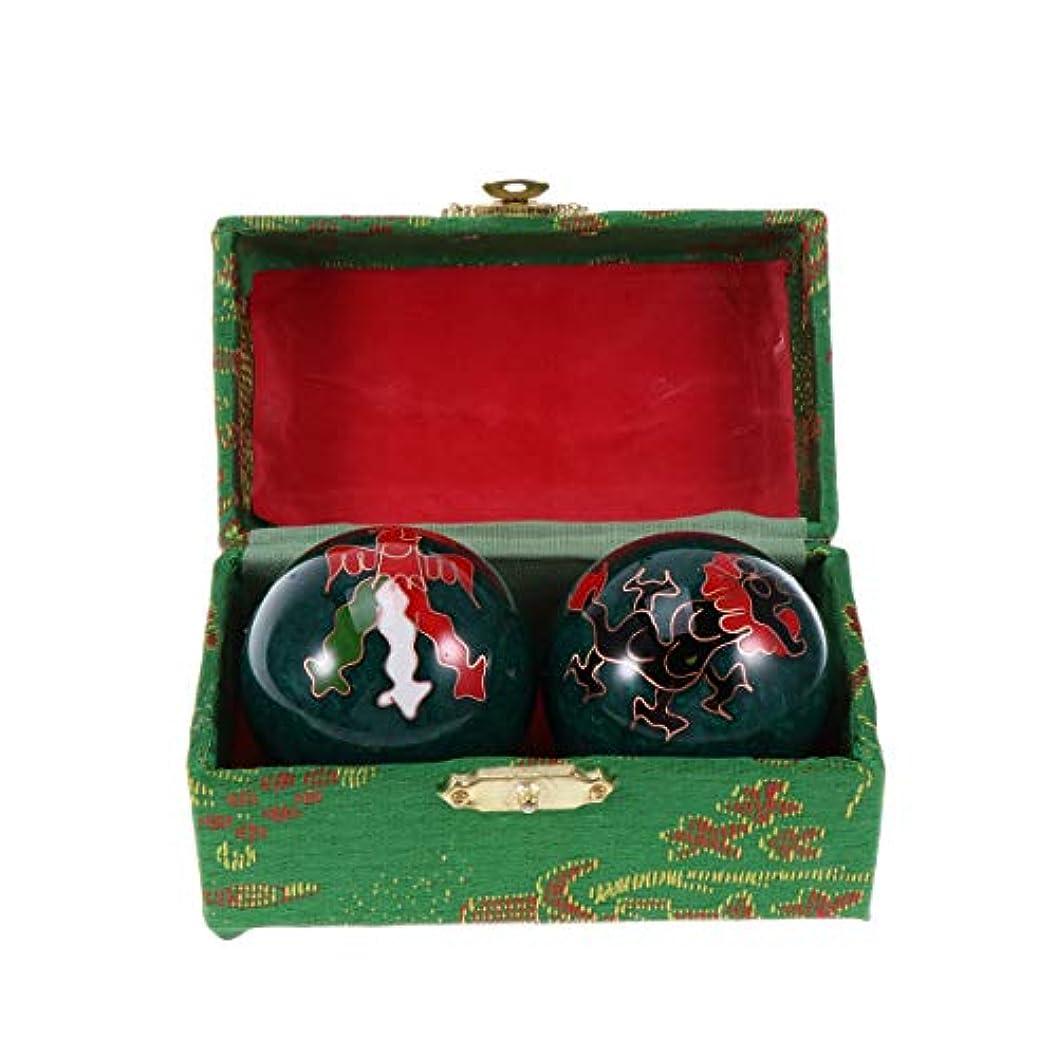 トチの実の木メロディアスデモンストレーションSUPVOX 瞑想ボールセラピー用ヘルスボールフィットネスハンドボールハンドマッサージ(青)