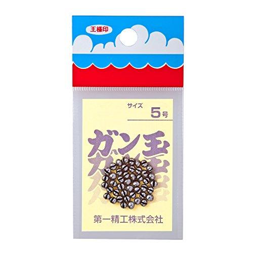 第一精工 ガン玉50円 5号