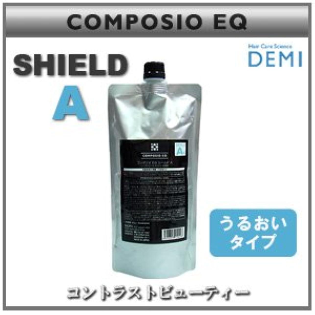 ドレイン夏カジュアル【x3個セット】 デミ コンポジオ EQ シールド A 450g