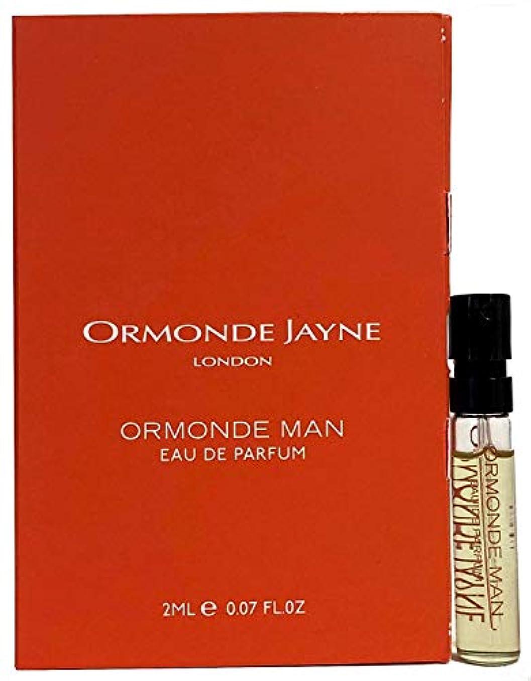 芽放射能六オーモンド ジェーン オーモンド マン オードパルファン 2ml(Ormonde Jayne ORMONDE MAN EDP Vial Sample 2ml)