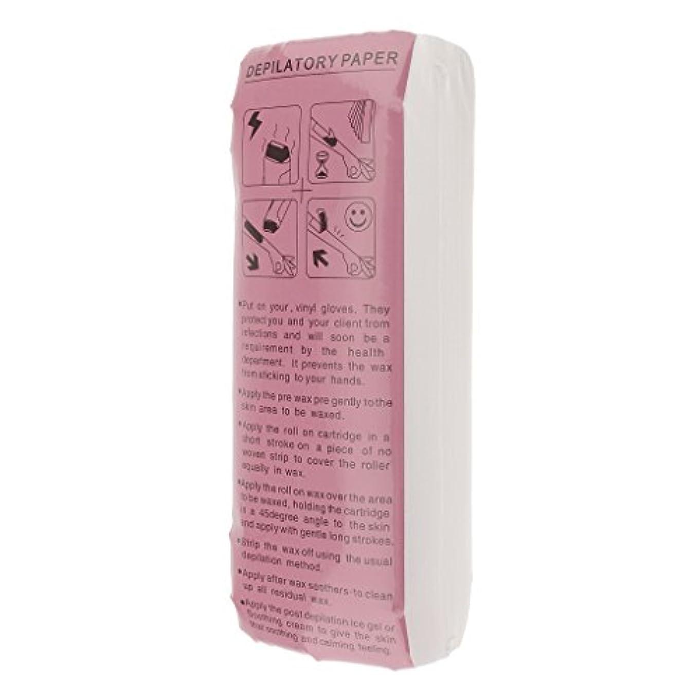 たとえ細菌哀脱毛紙 フェイシャル ボディ除毛 脱毛ワックスストリップ 不織布 衛生的 便利 約100枚セット
