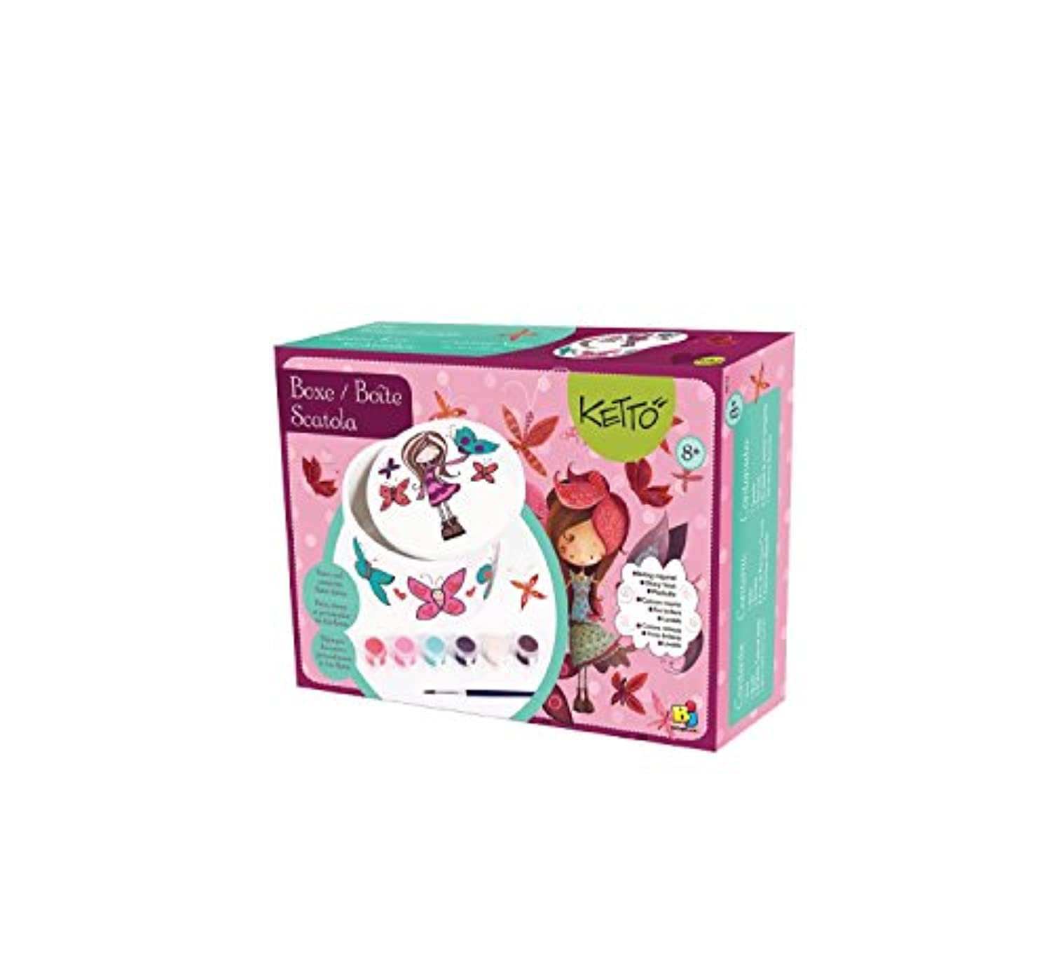 Bojeux Porcelain Creation Box Butterfly Building Kit [並行輸入品]