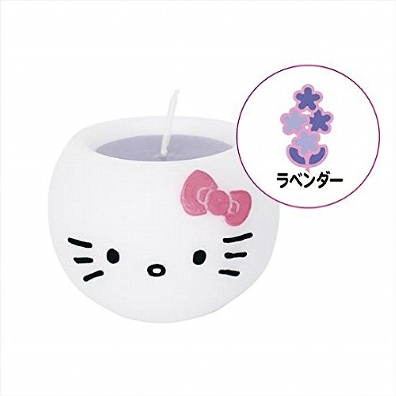 発火するファントム支払いkameyama candle(カメヤマキャンドル) ハローキティアロマキャンドル 「 ラベンダー 」 キャンドル 58x58x45mm (A6980520)