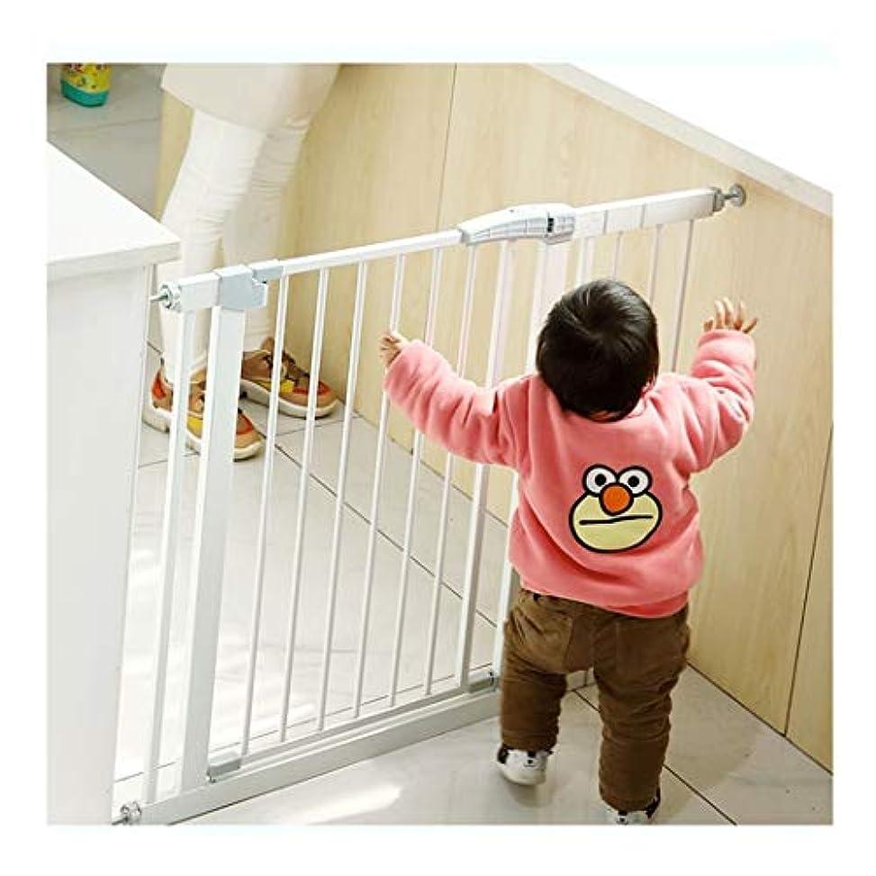 承認テスピアン以前はベビーゲート エクストラワイドウォークスルー暖炉フェンス階段の上のための領域Bidirect Ionalがガードレールを切り替え再生ドア29.3-89.3inで拡張可能な赤ちゃんの安全ゲート (Color : High 80cm Width, Size : 75-82cm)