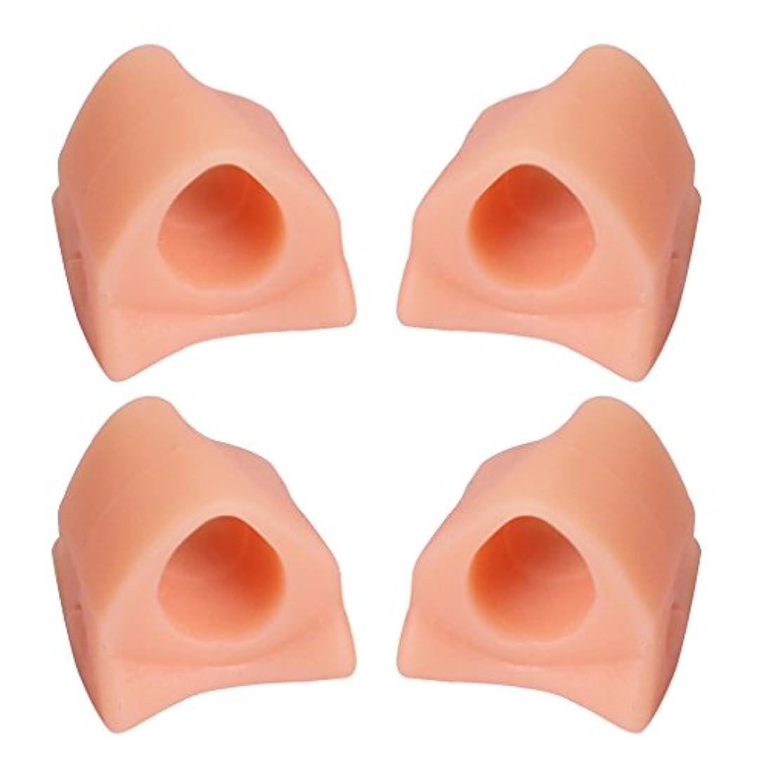 ベギンレパートリー突っ込むHellery 4本ゲル腱膜補正つま先セパレーター補正Hallux外反フットケア