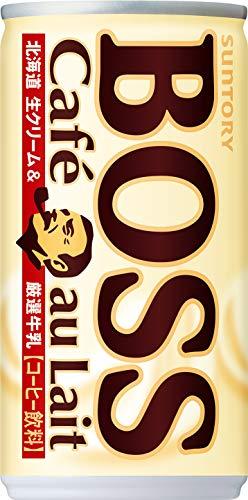 ボス(BOSS) カフェオレ 缶 185ml