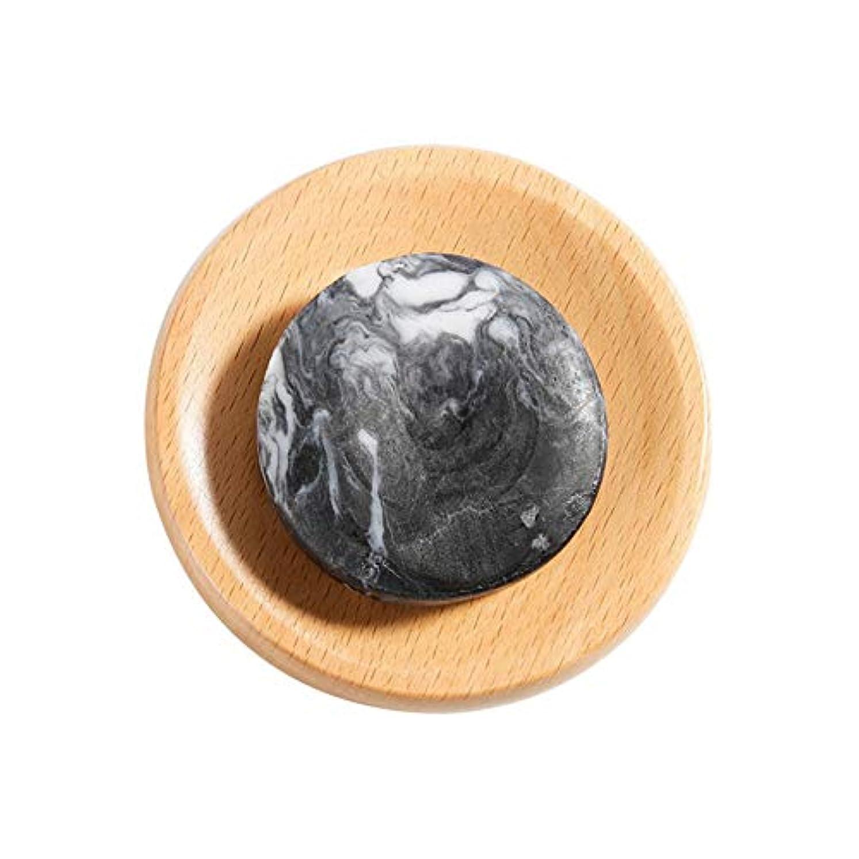 圧縮倫理有害な火山泥 石鹸 美白 ボディクリア 抗菌 スキンケア 腹ステッカー5枚付き hjuns-Wu