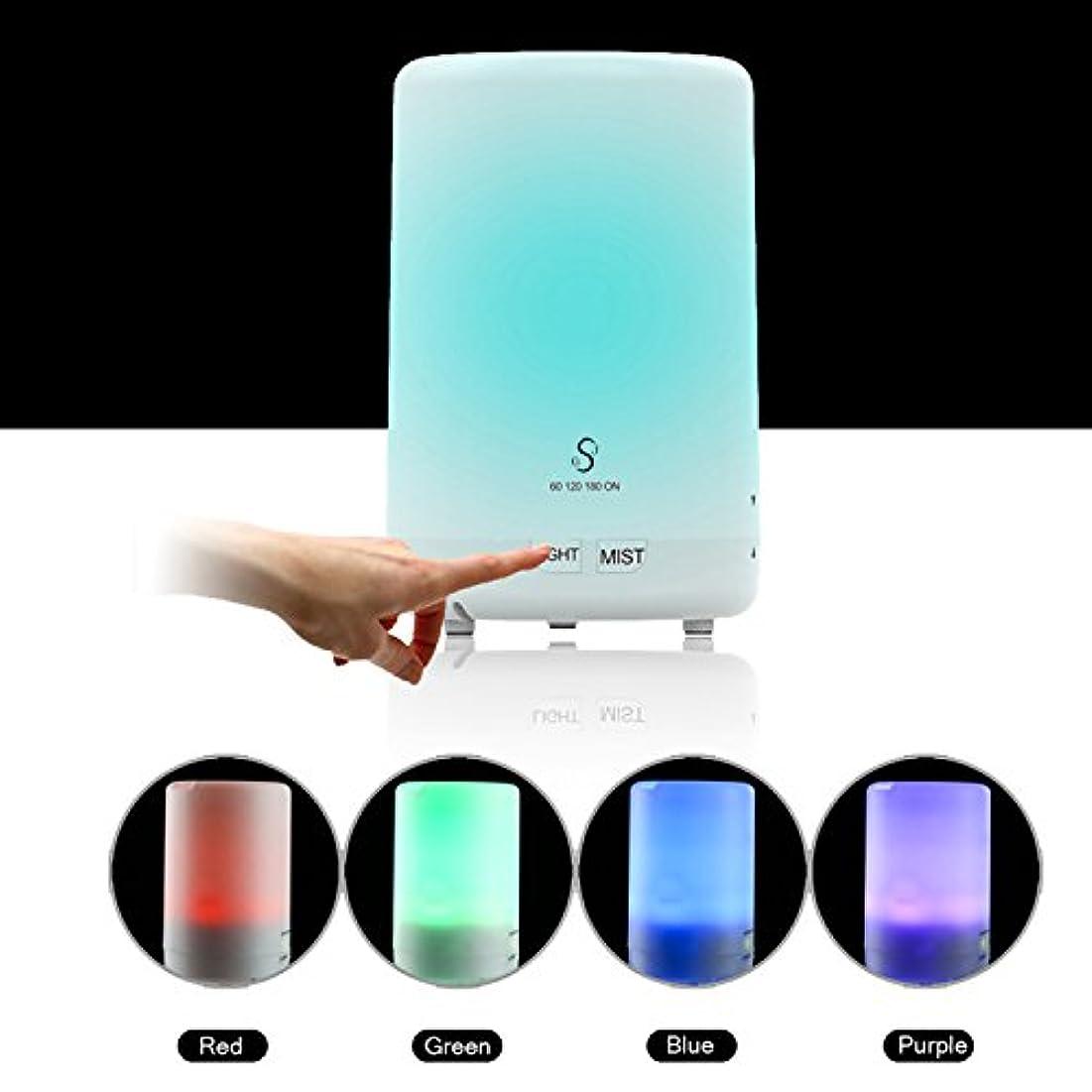 スキャン恒久的パンフレットamaspace Aromatherapy Essential Oil Diffuser Changeable 6 LEDカラーライトWaterless自動遮断