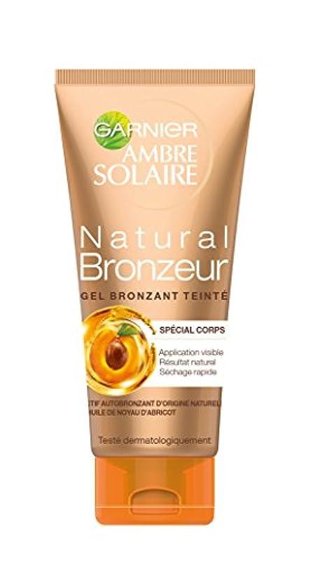 慣性農場地上でGARNIER - Gel Autobronzant - Natural Bronzeur - Teinté Nacres Dorées - 150ml